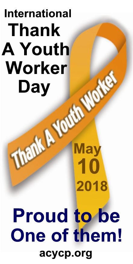 2018 Thank A Youth Worker Day